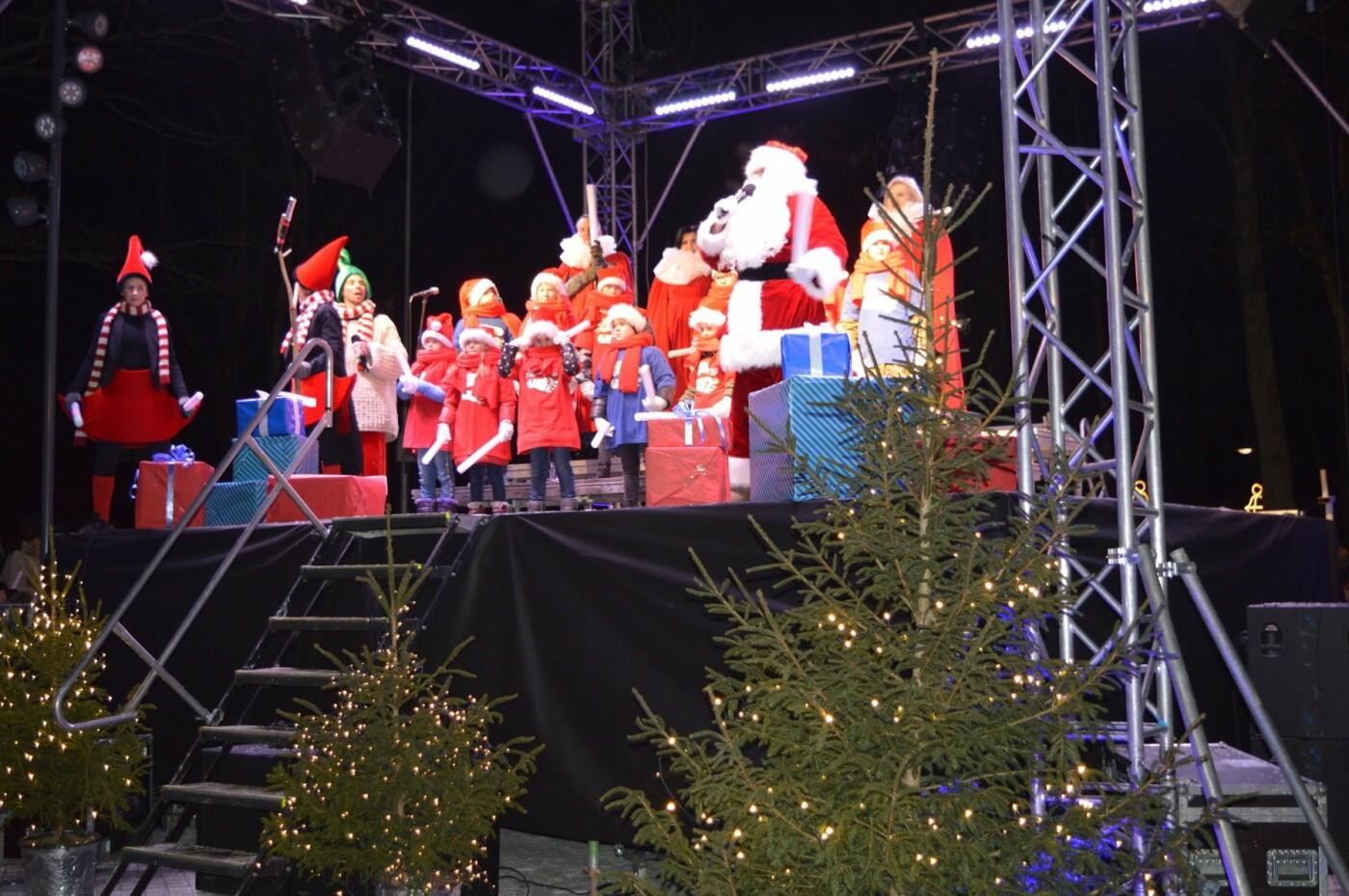 Palanga įžiebė eglę ir suspindo tūkstančiais kalėdinių šviesų, nuotrauka-82