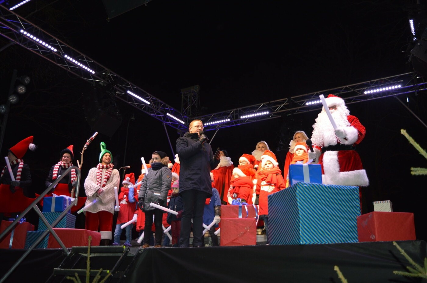 Palanga įžiebė eglę ir suspindo tūkstančiais kalėdinių šviesų, nuotrauka-8