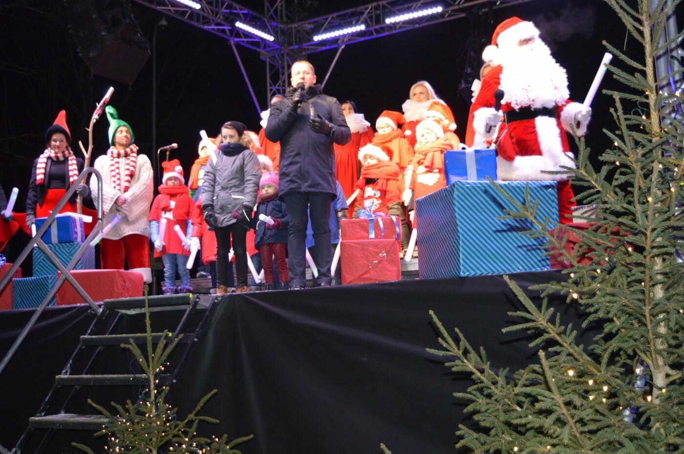 Palanga įžiebė eglę ir suspindo tūkstančiais kalėdinių šviesų, nuotrauka-65