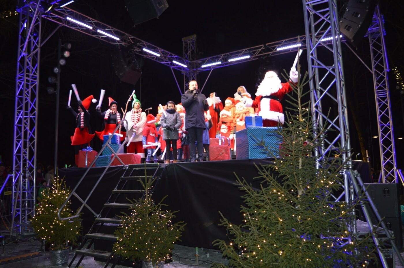 Palanga įžiebė eglę ir suspindo tūkstančiais kalėdinių šviesų, nuotrauka-53
