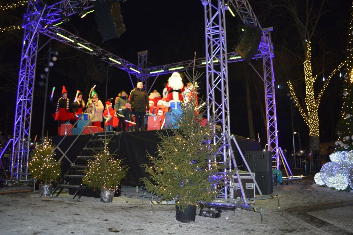 Palanga įžiebė eglę ir suspindo tūkstančiais kalėdinių šviesų, nuotrauka-54