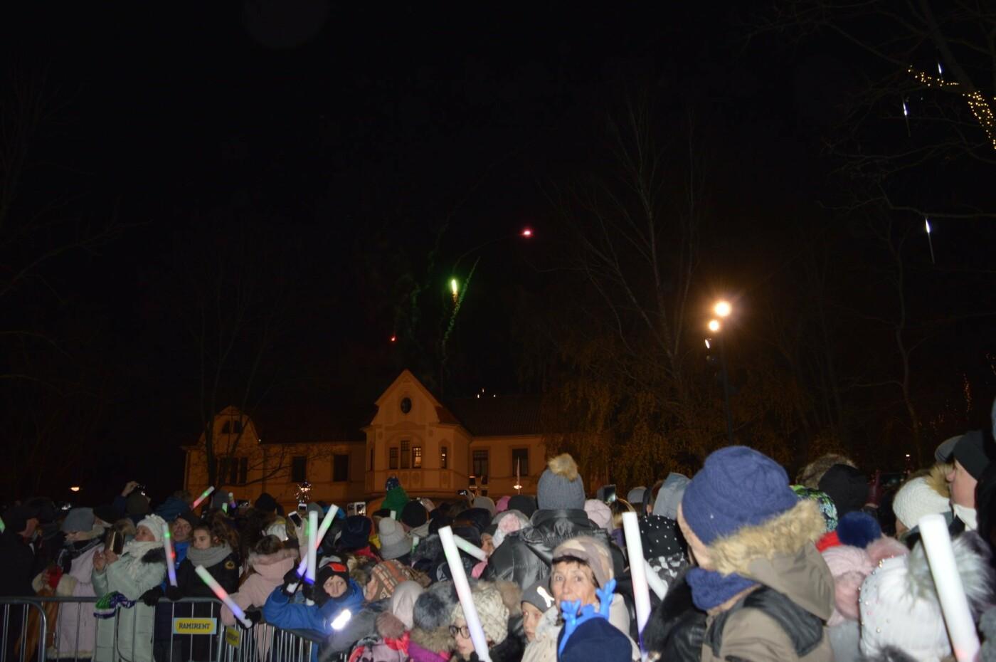 Palanga įžiebė eglę ir suspindo tūkstančiais kalėdinių šviesų, nuotrauka-4