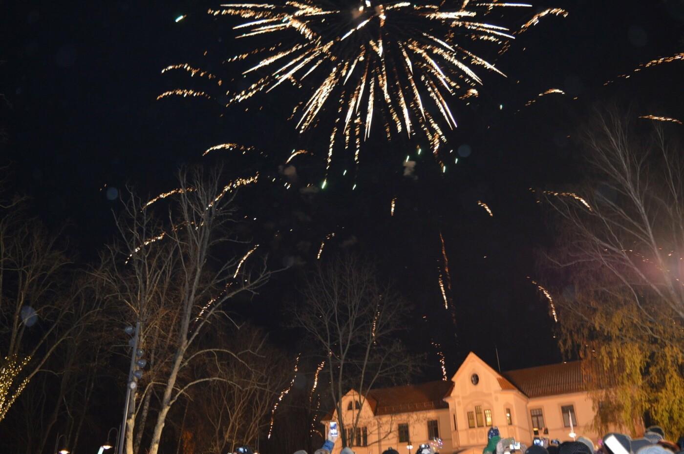 Palanga įžiebė eglę ir suspindo tūkstančiais kalėdinių šviesų, nuotrauka-16
