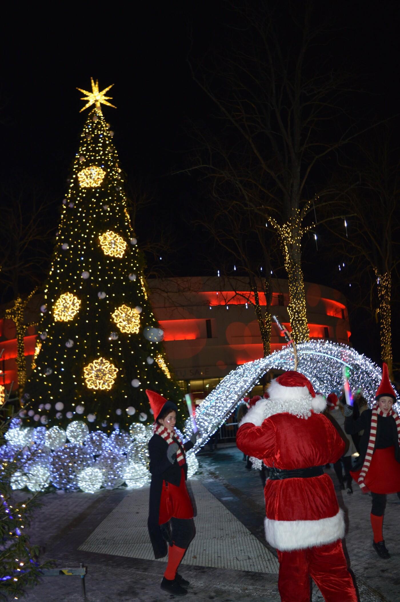Palanga įžiebė eglę ir suspindo tūkstančiais kalėdinių šviesų, nuotrauka-68