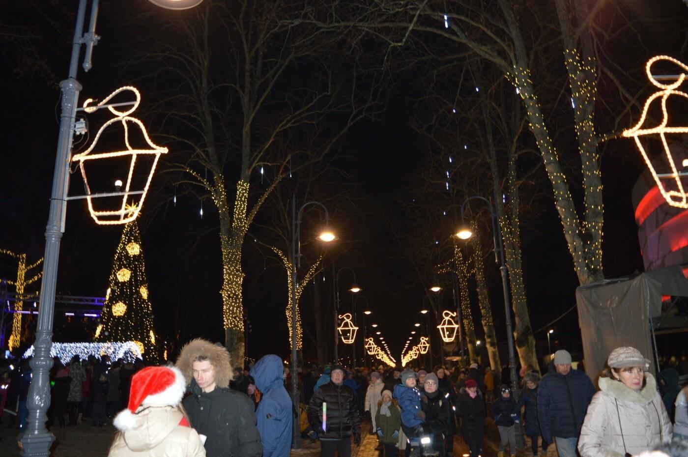 Palanga įžiebė eglę ir suspindo tūkstančiais kalėdinių šviesų, nuotrauka-71