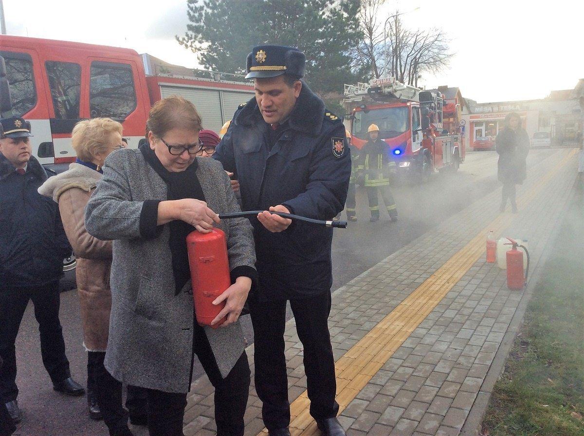 Savivaldybėje surengtos evakuacijos pratybos, nuotrauka-1