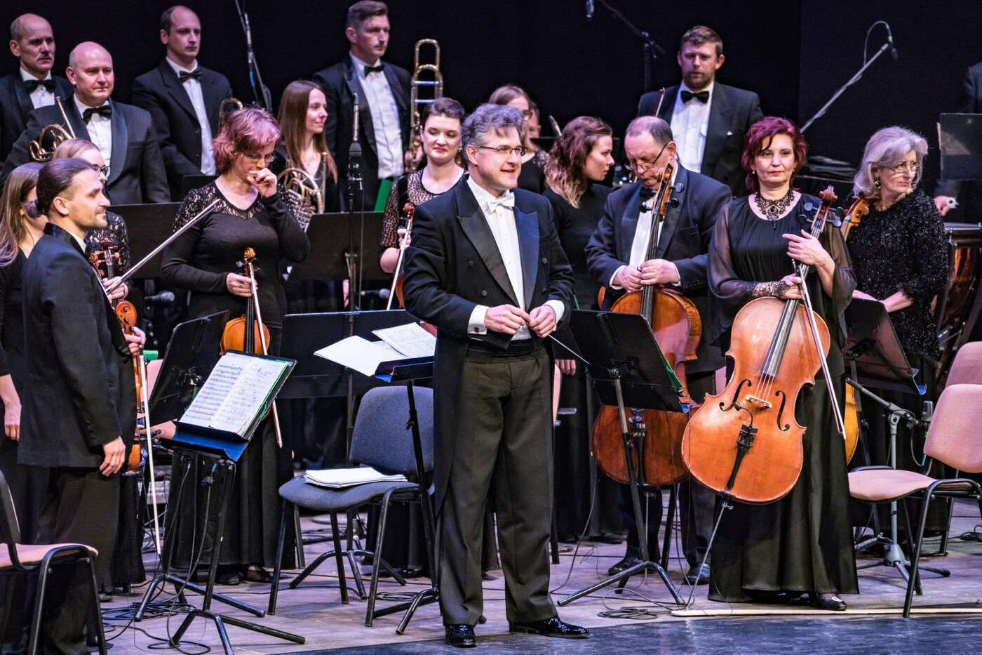 """Dirigentas Tomas Ambrozaitis: """"Orkestras galingas, kai darniai sutaria"""", nuotrauka-4"""