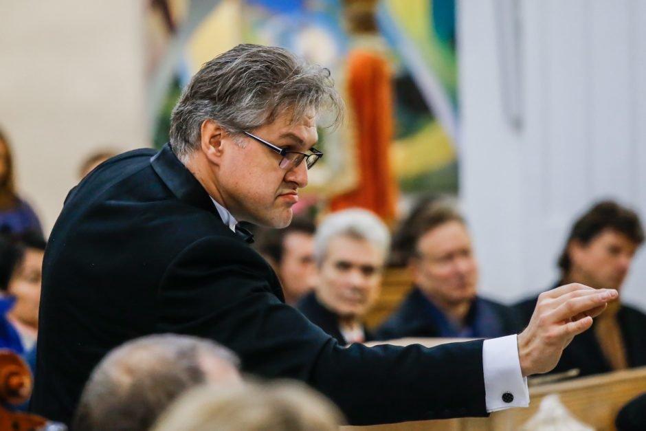"""Dirigentas Tomas Ambrozaitis: """"Orkestras galingas, kai darniai sutaria"""", nuotrauka-1"""
