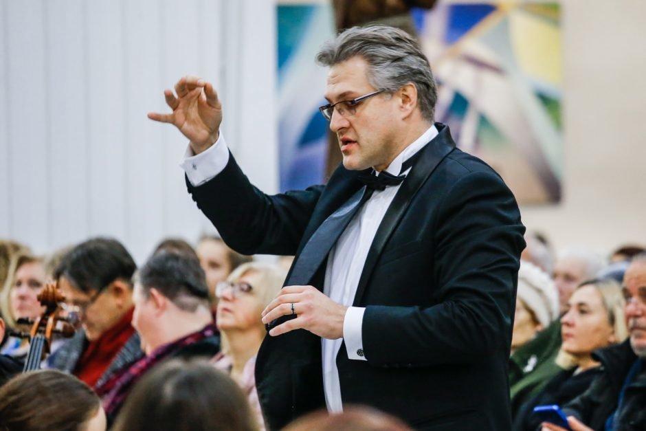 """Dirigentas Tomas Ambrozaitis: """"Orkestras galingas, kai darniai sutaria"""", nuotrauka-2"""