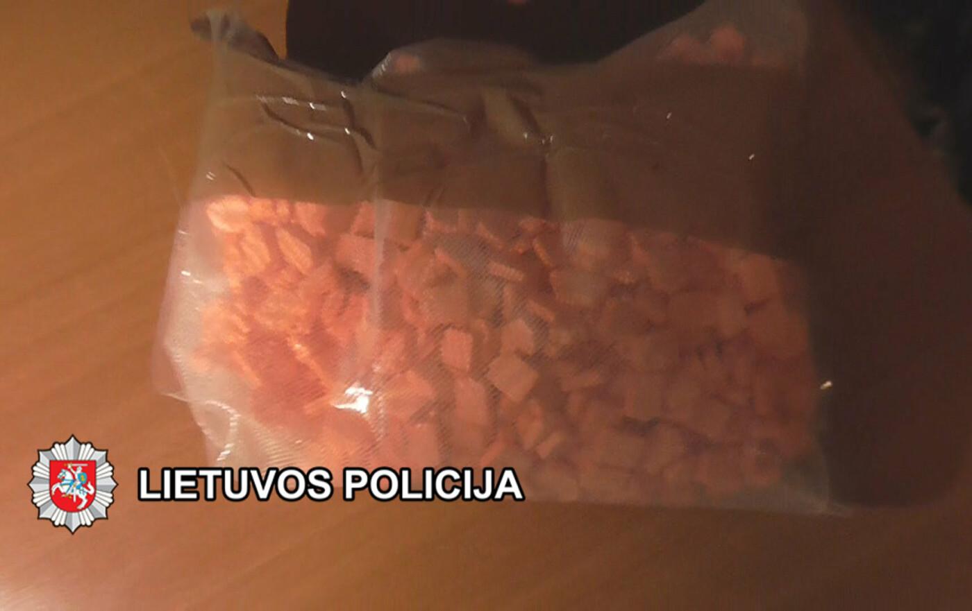 Klaipėdos kriminalistai baigė tyrimą dėl narkotikų platinimo uostamiestyje ir Palangoje, nuotrauka-3, Klaipėdos VPK nuotr.