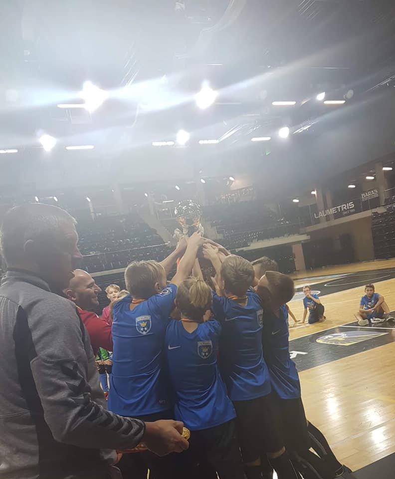 Palangos SC 2008 komanda laimėjo pirmą vietą tarptautiniame 12 komandų turnyre Kėdainiuose, nuotrauka-2