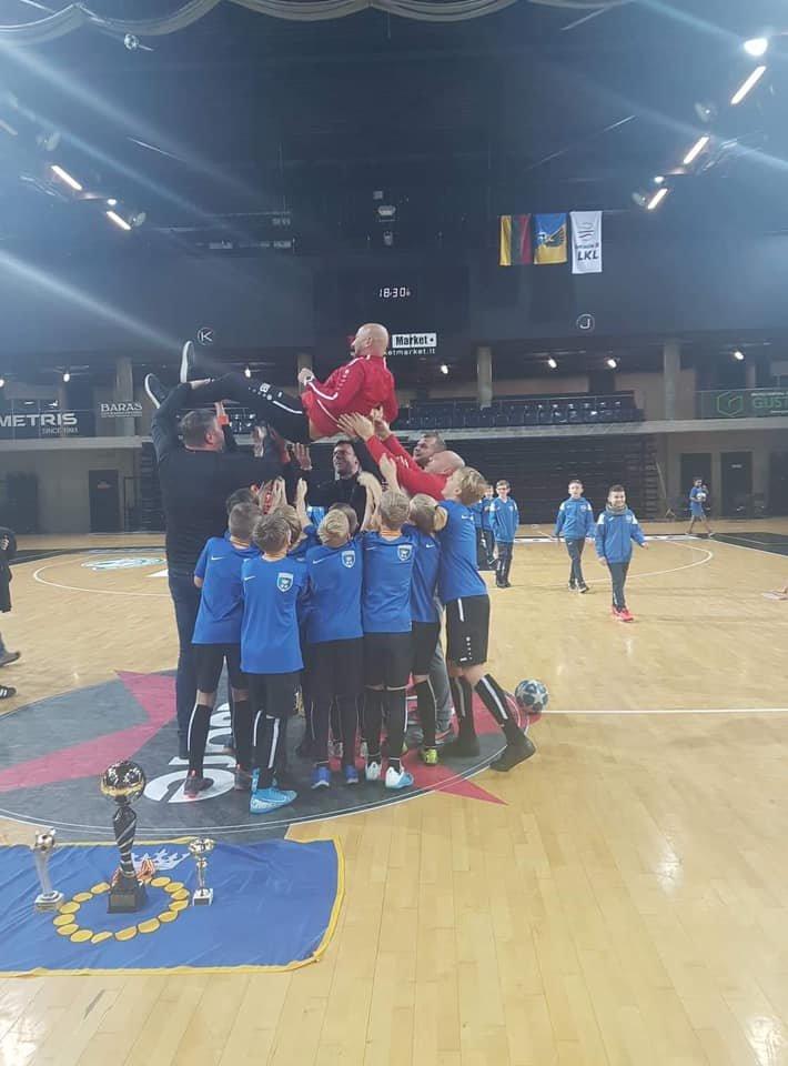 Palangos SC 2008 komanda laimėjo pirmą vietą tarptautiniame 12 komandų turnyre Kėdainiuose, nuotrauka-3