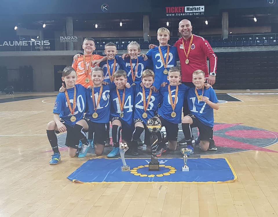 Palangos SC 2008 komanda laimėjo pirmą vietą tarptautiniame 12 komandų turnyre Kėdainiuose, nuotrauka-4