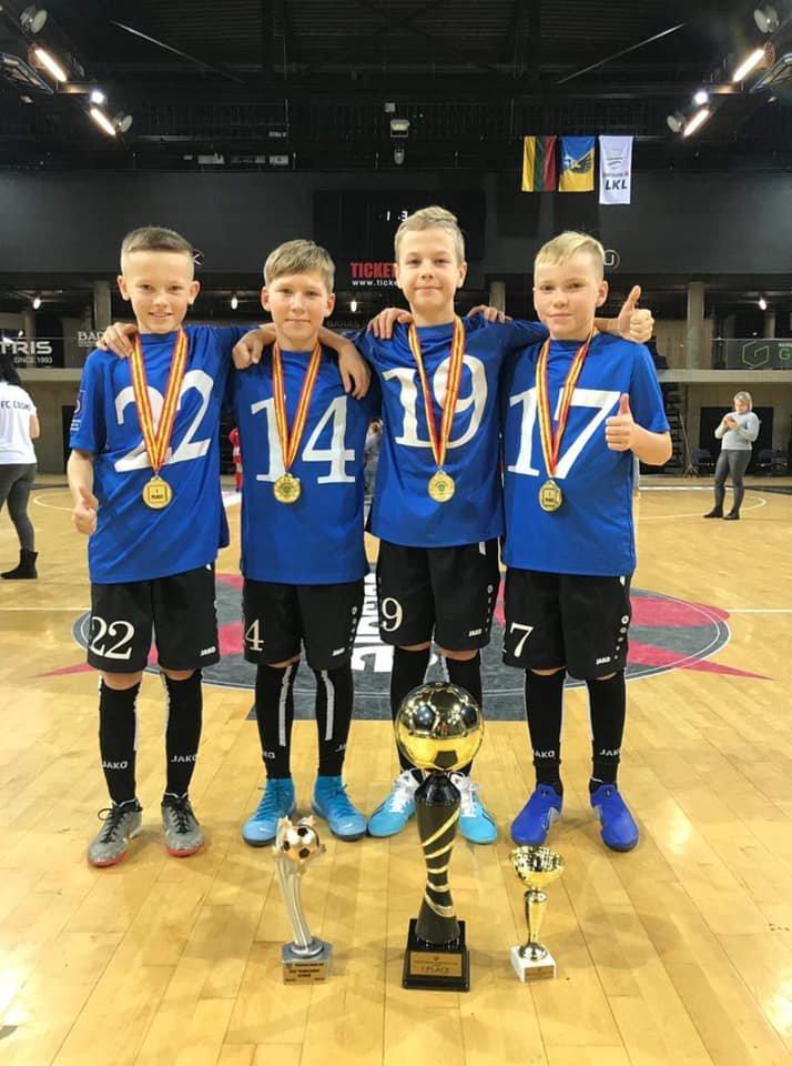 Palangos SC 2008 komanda laimėjo pirmą vietą tarptautiniame 12 komandų turnyre Kėdainiuose, nuotrauka-5