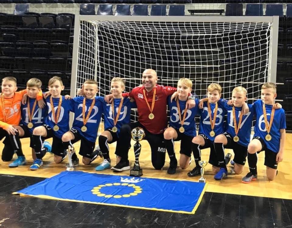 Palangos SC 2008 komanda laimėjo pirmą vietą tarptautiniame 12 komandų turnyre Kėdainiuose, nuotrauka-8
