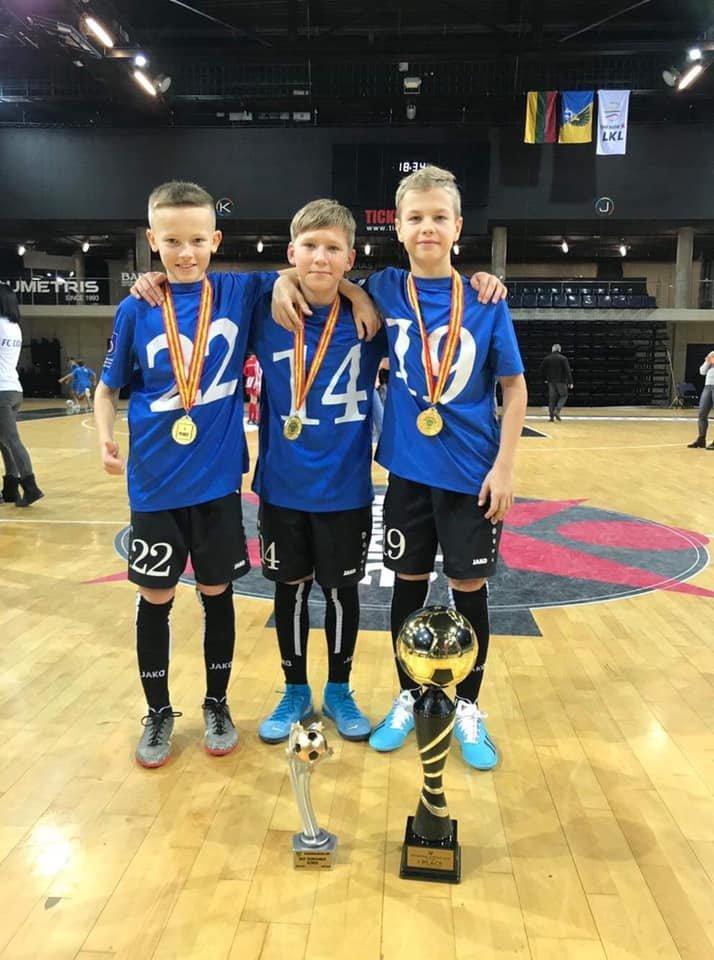 Palangos SC 2008 komanda laimėjo pirmą vietą tarptautiniame 12 komandų turnyre Kėdainiuose, nuotrauka-9