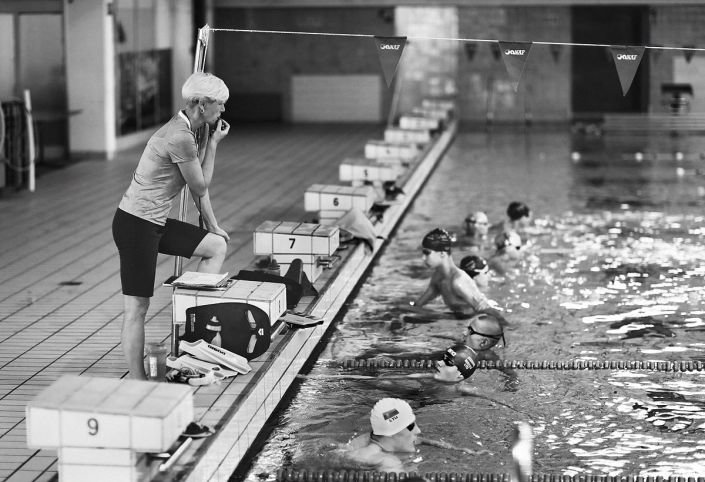 Plaukimo treniruotė, Viktorijos Vaišvilaitės-Skirutienės nuotr.