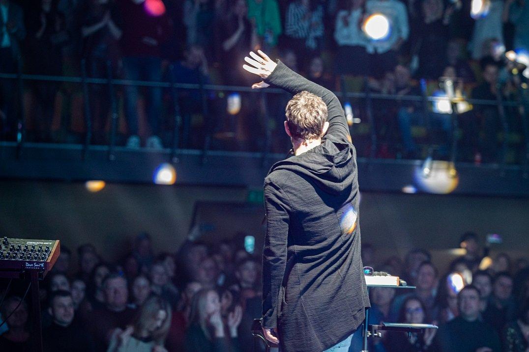 """""""Daddy Was A Milkman"""" 2019-uosius metus užbaigė anšlaginiu koncertu Palangoje, nuotrauka-29, Luko Grušecko ir Evelinos Sabaliauskaitės nuotr."""