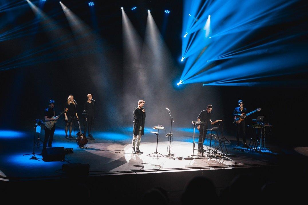 """""""Daddy Was A Milkman"""" 2019-uosius metus užbaigė anšlaginiu koncertu Palangoje, nuotrauka-38, Luko Grušecko ir Evelinos Sabaliauskaitės nuotr."""
