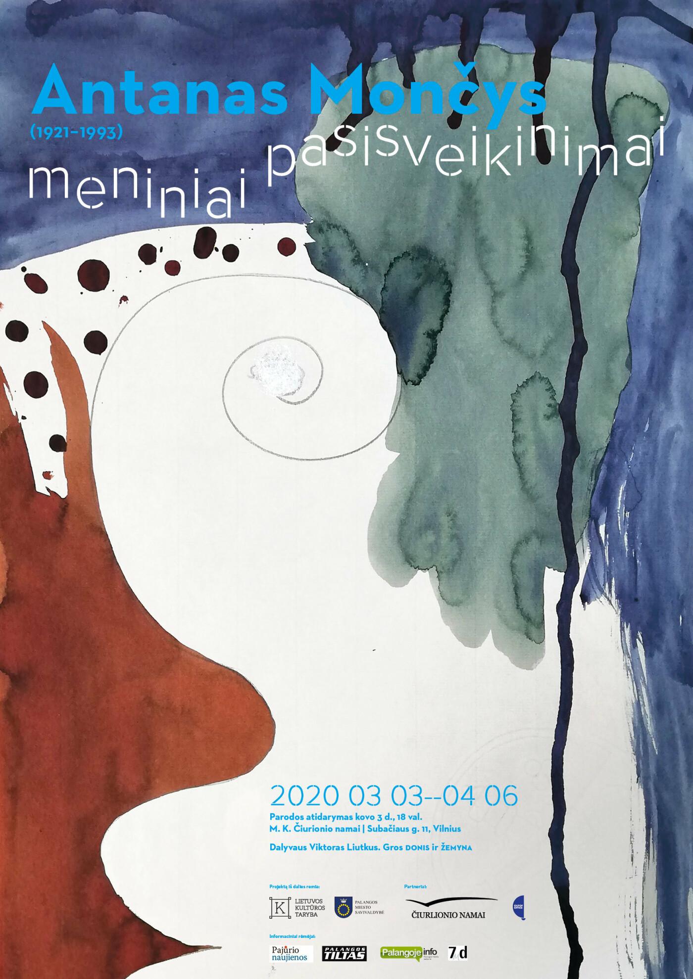 A. Mončio paroda M.K. Čiurlionio namuose Vilniuje, nuotrauka-1