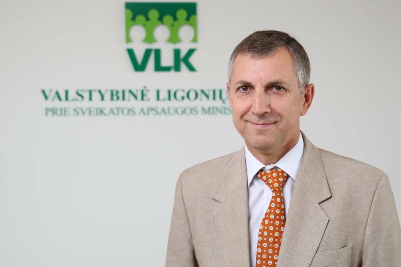 Valstybinės ligonių kasos direktorius Gintaras Kacevičius., R.Danisevičiaus nuotr.