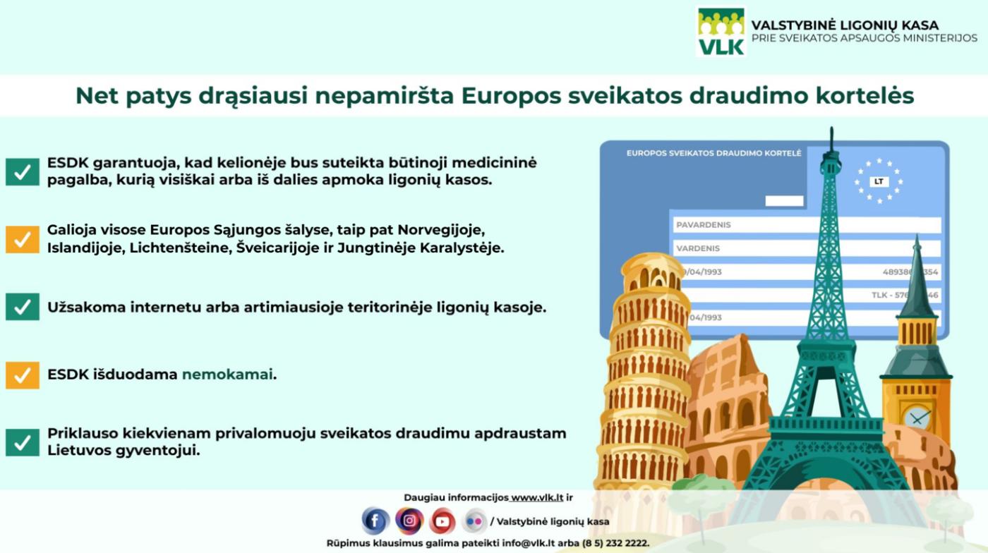 Lietuvos gyventojai tikrai nudžiugs – sveikatos kortelę nuo šiol paštu siųs nemokamai, nuotrauka-2