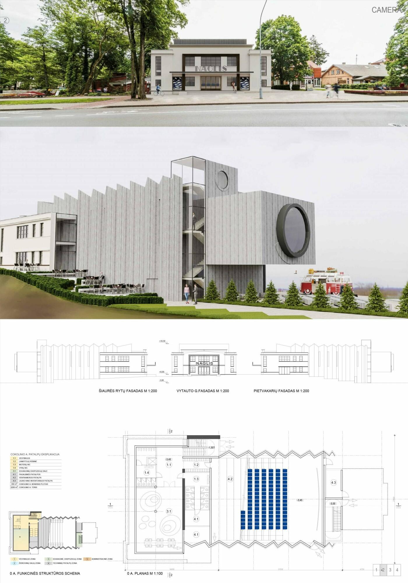"""Kino teatro """"Naglis"""" konkursui pateikti 7 projektai, nuotrauka-22"""