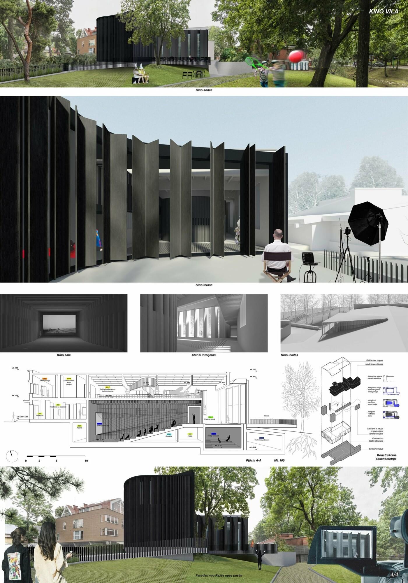 """Kino teatro """"Naglis"""" konkursui pateikti 7 projektai, nuotrauka-12"""