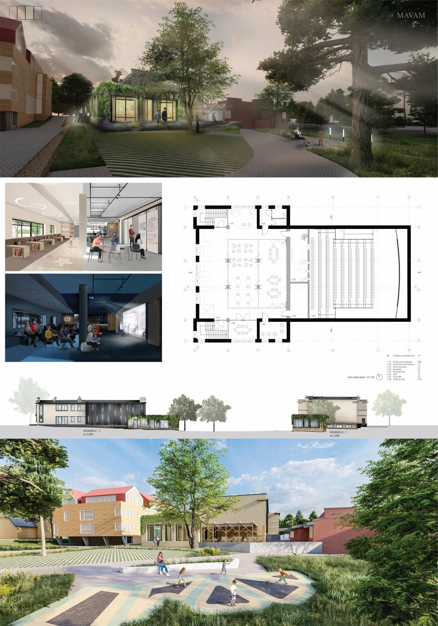"""Kino teatro """"Naglis"""" konkursui pateikti 7 projektai, nuotrauka-27"""