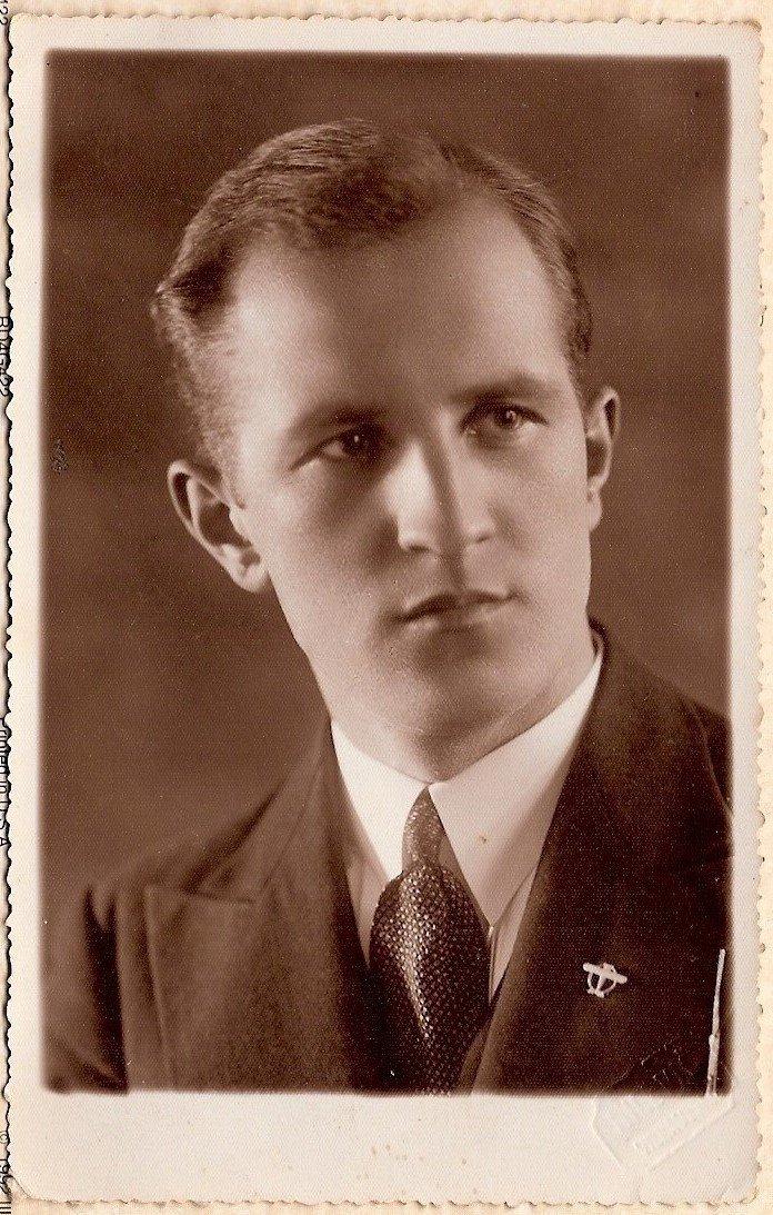 Vytautas Šidlauskas 1933 metais